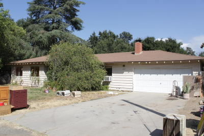Ojai Single Family Home Active Under Contract: 222 Avenida De La Vereda