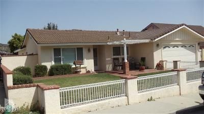 Santa Paula Single Family Home For Sale: 1813 Cherry Hill Road
