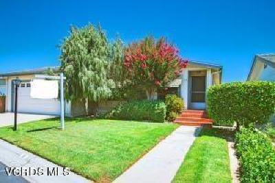 Santa Paula Single Family Home Active Under Contract: 975 W Telegraph Road #19