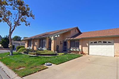 Camarillo Single Family Home Active Under Contract: 22223 Village 22 #22