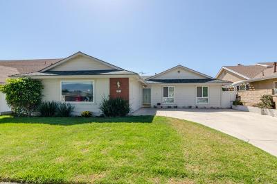 Ventura Single Family Home For Sale: 275 Petit Avenue