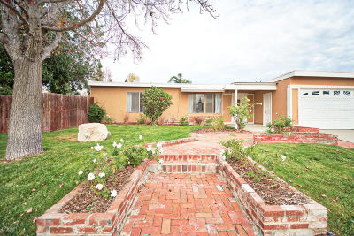 Camarillo Single Family Home For Sale: 3523 Germain Street