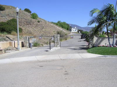 Santa Paula Residential Lots & Land For Sale: Montclair Drive