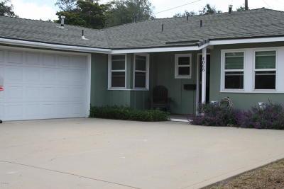 Ventura Single Family Home For Sale: 4068 Georgia Street