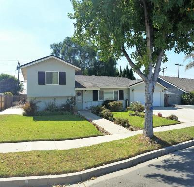 Camarillo Single Family Home For Sale: 4014 Germain Street