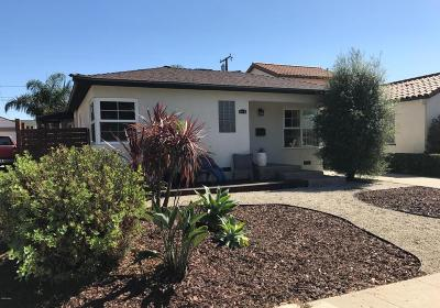 Ventura Single Family Home For Sale: 66 Katherine Drive