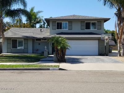 Oxnard Single Family Home For Sale: 2061 Rhonda Street