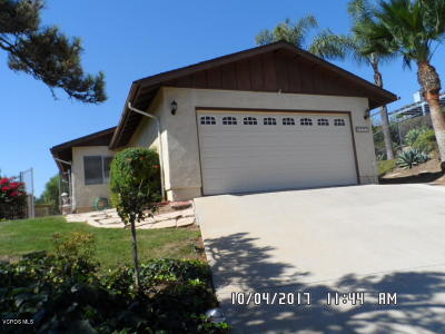 Camarillo Single Family Home Active Under Contract: 2111 Stacy Lane