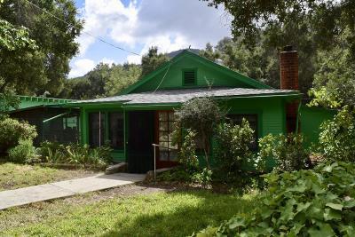 Santa Paula Single Family Home Active Under Contract: 11802 Koenigstein Road