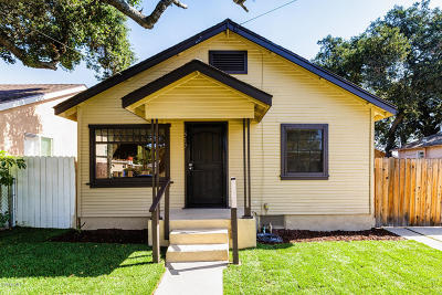 Santa Paula  Single Family Home For Sale: 517 Sycamore Street