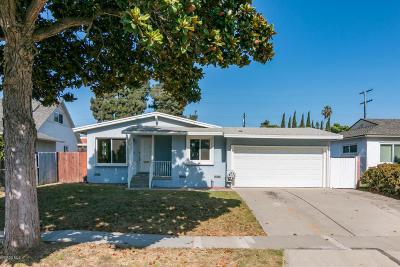 Ventura Single Family Home Active Under Contract: 3131 Porter Lane