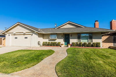 Camarillo Single Family Home Active Under Contract: 3459 Rivermore Street