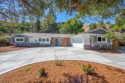 Ventura Single Family Home Active Under Contract: 873 Via Arroyo