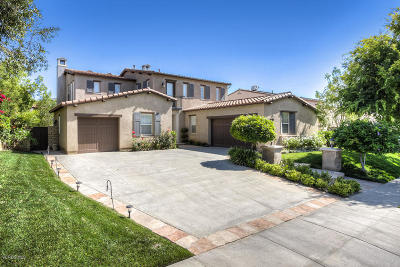 Newbury Park Single Family Home For Sale: 5323 Via Patricia