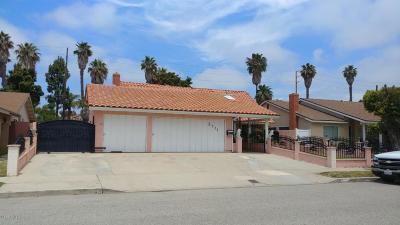 Oxnard Single Family Home For Sale: 2111 Bernadette Street