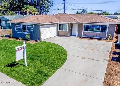 Oxnard Single Family Home For Sale: 4100 S G Street