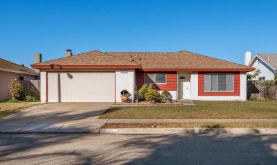 Oxnard Single Family Home Active Under Contract: 4521 Concord Way