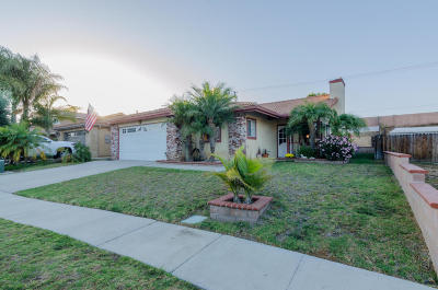Ventura Single Family Home Active Under Contract: 11471 Casa Street