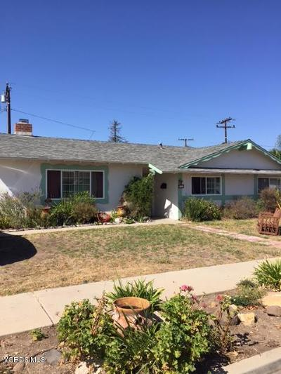 Newbury Park Single Family Home For Sale: 741 Malat Drive