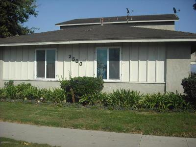 Ventura County Rental For Rent: 2500 D El Dorado Avenue