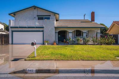 Camarillo Single Family Home For Sale: 942 Gracia Street
