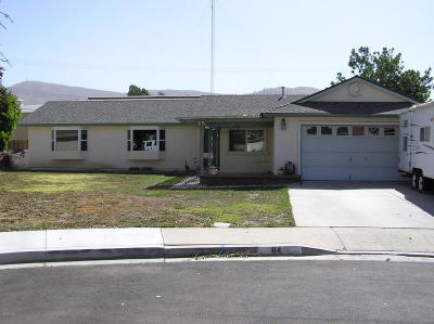 Santa Paula  Single Family Home Active Under Contract: 84 Pamela Court