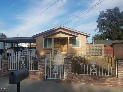 Santa Paula Single Family Home For Sale: 605 Ojai Road