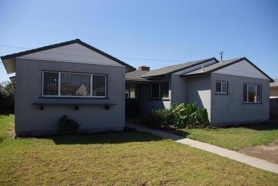Oxnard Single Family Home For Sale: 1306 W Iris Street