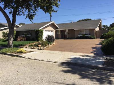 Ventura Single Family Home For Sale: 244 Baldwin Avenue