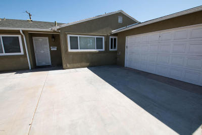 Oxnard Single Family Home Active Under Contract: 3014 S F Street