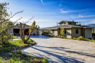 Santa Paula Rental For Rent: 15900 S Mountain Road