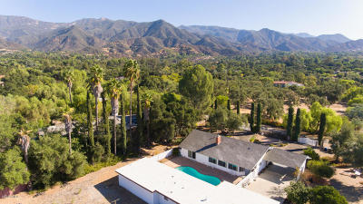 Ojai Single Family Home For Sale: 1225 Shippee Lane
