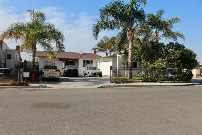 Oxnard Multi Family Home For Sale: 718-720 Lemar Avenue