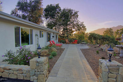 Ojai Single Family Home For Sale: 493 Montana Circle