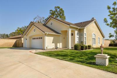 Camarillo Single Family Home Active Under Contract: 1104 Via Carranza