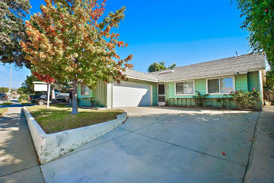 Ventura Single Family Home For Sale: 306 Dunsmuir Avenue