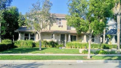 Camarillo Single Family Home For Sale: 425 Village Commons Boulevard