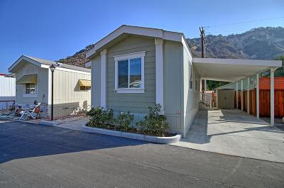 Ventura Mobile Home Active Under Contract: 18 Mobile Lane