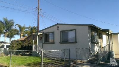 Oxnard Multi Family Home For Sale: 2496 Cortez Street