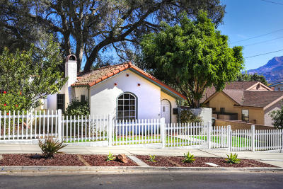 Santa Paula  Single Family Home Active Under Contract: 419 8th Street