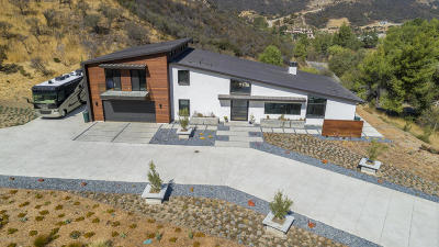 Agoura Hills Single Family Home For Sale: 31830 Lobo Canyon Road