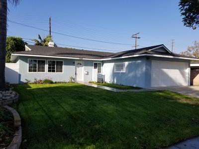 Ventura CA Single Family Home For Sale: $559,900