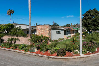 Ventura Single Family Home For Sale: 109 Shamrock Drive