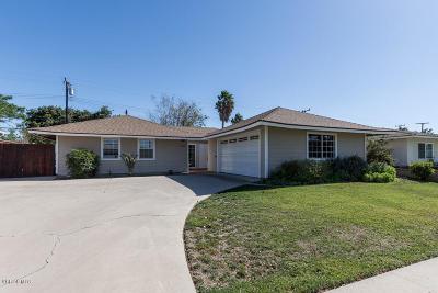 Camarillo Single Family Home For Sale: 1130 Harris Avenue