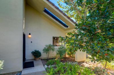 Ojai Single Family Home For Sale: 1103 Creekside Way #D