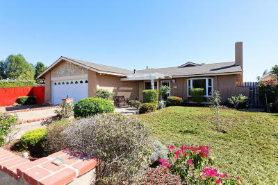 Moorpark Single Family Home For Sale: 6544 Amherst Street