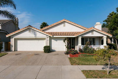 Oxnard Single Family Home For Sale: 707 Transom Way