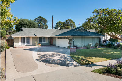 Ventura Single Family Home For Sale: 5455 Woodbury Street