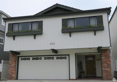 Ventura County Rental For Rent: 4153 Ocean Drive