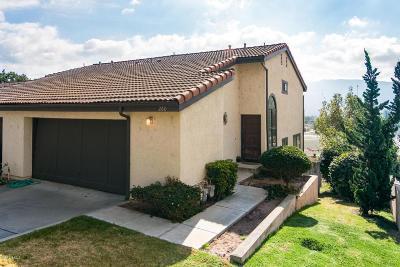 Santa Paula Single Family Home For Sale: 260 E Virginia Terrace